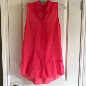 Wilfred Aritzia Silk Sleeveless Blouse Size XS/S